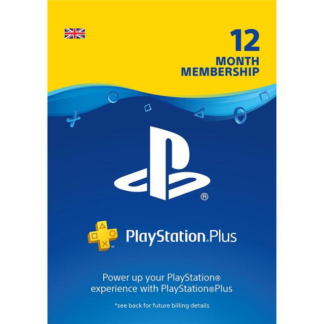 Sony PlayStation Plus 12 Month Membership - Digital Download Code