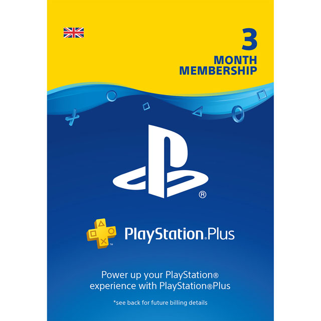 PlayStation Plus 3 Month Membership - Digital Download Code