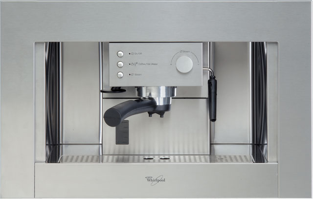 Whirlpool ACE010IX Built In Bean to Cup Coffee Machine - Stainless Steel