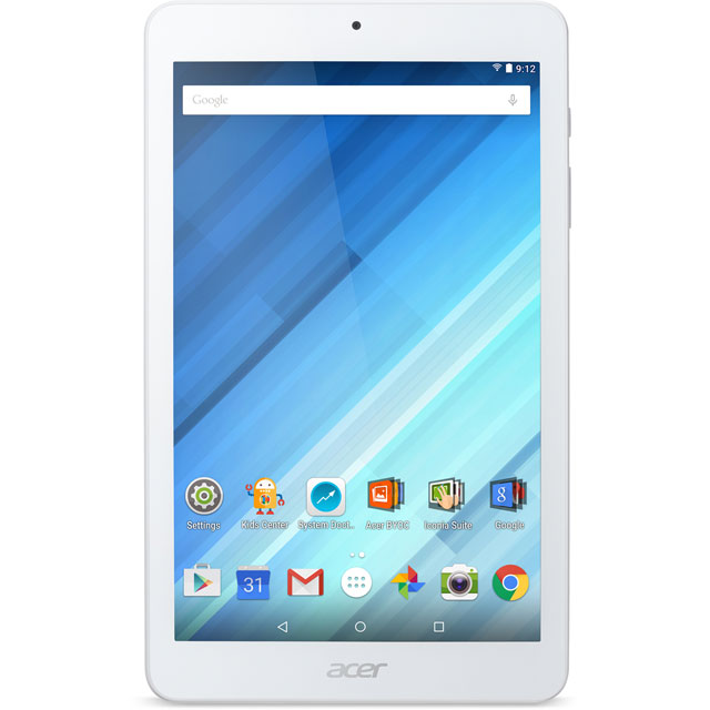 "Acer Iconia One 8"" HD 16GB WiFi Tablet - White"