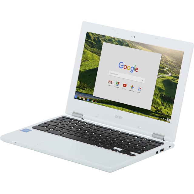 Image of Acer Chromebook in White