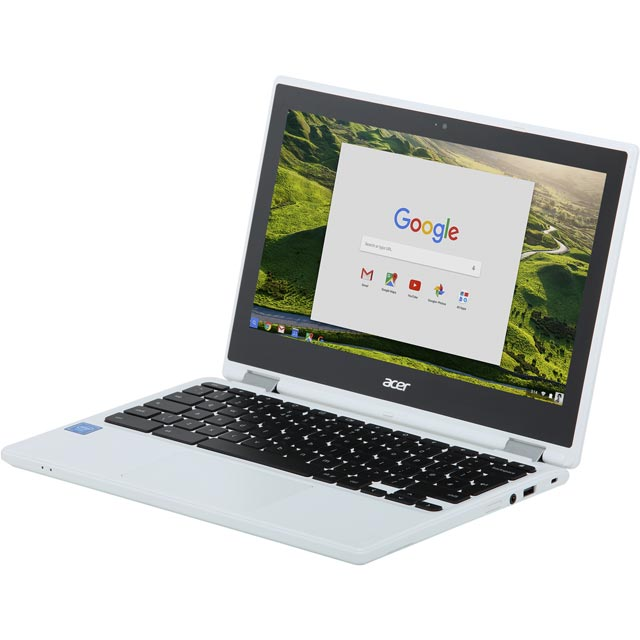 "Acer R11 CB5-132T 11.6"" 2-in-1 Chromebook - White - NX.G54EK.005 - 1"