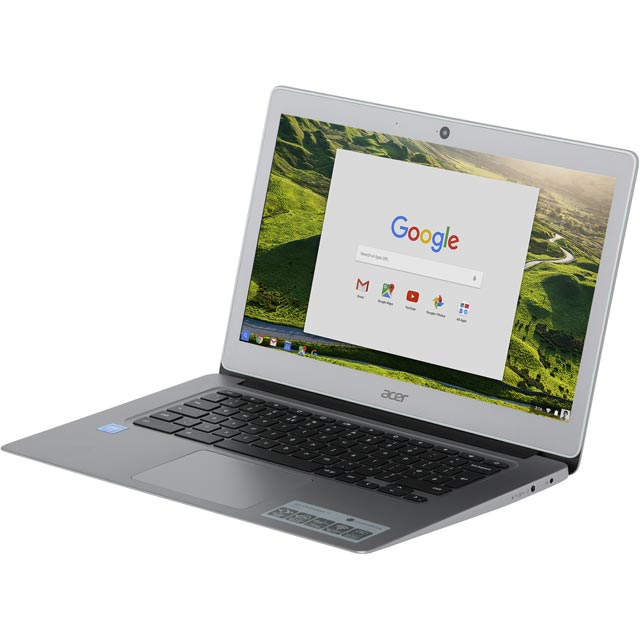 "Acer CB3-431 14"" Full HD Chromebook - Silver - NX.GC2EK.007 - 1"