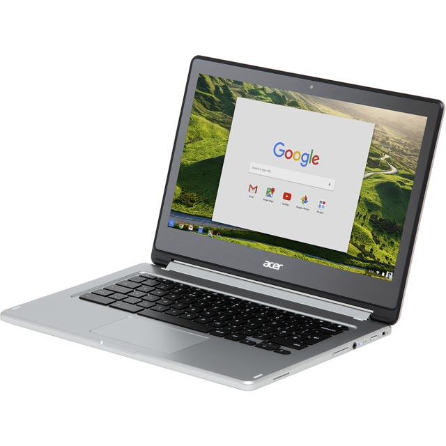 "Acer R13 CB5-312T 13.3"" Full HD 2-in-1 Chromebook - Silver - NX.GL4EK.003 - 1"