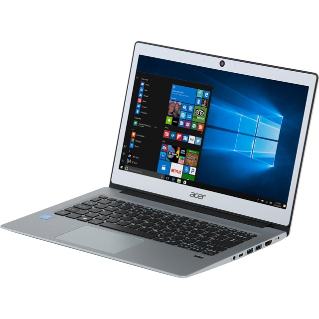 "Acer Swift 1 SF113-31 13.3"" Laptop - Silver - NX.GNLEK.003 - 1"