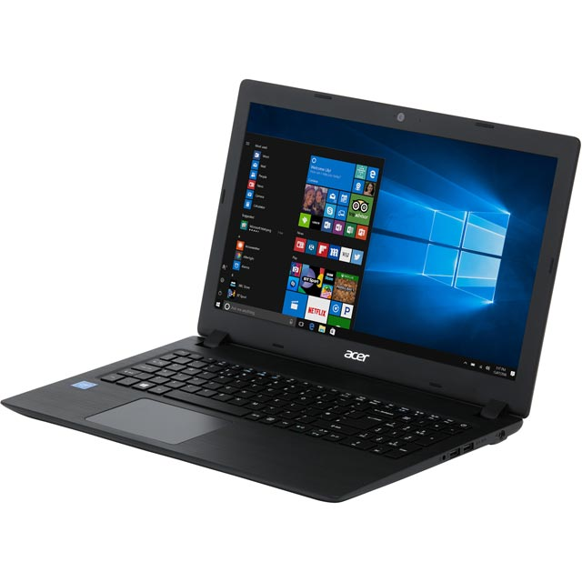"Acer Aspire 3 15.6"" Laptop - Black - NX.GY9EK.003 - 1"