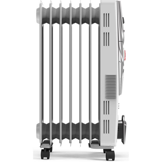 Vax PowerHeat 1500w ACH1V101 Oil Filled Radiator in White