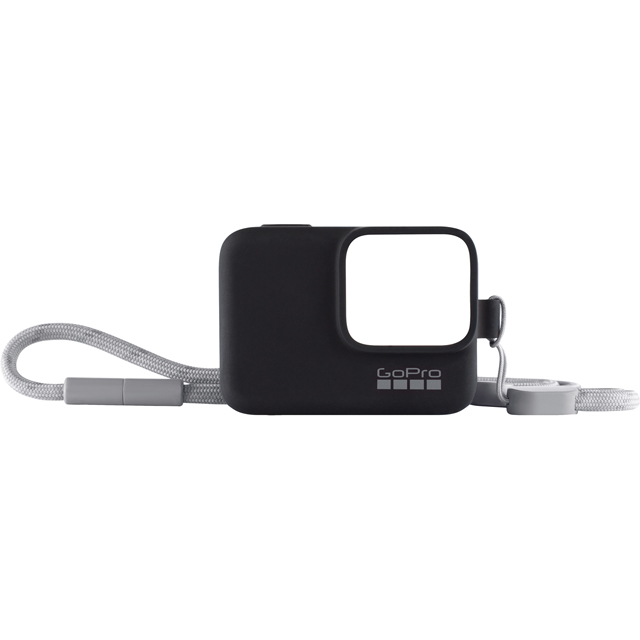 GoPro Sleeve and Lanyard ACSST-001 Camera Accessory in Black
