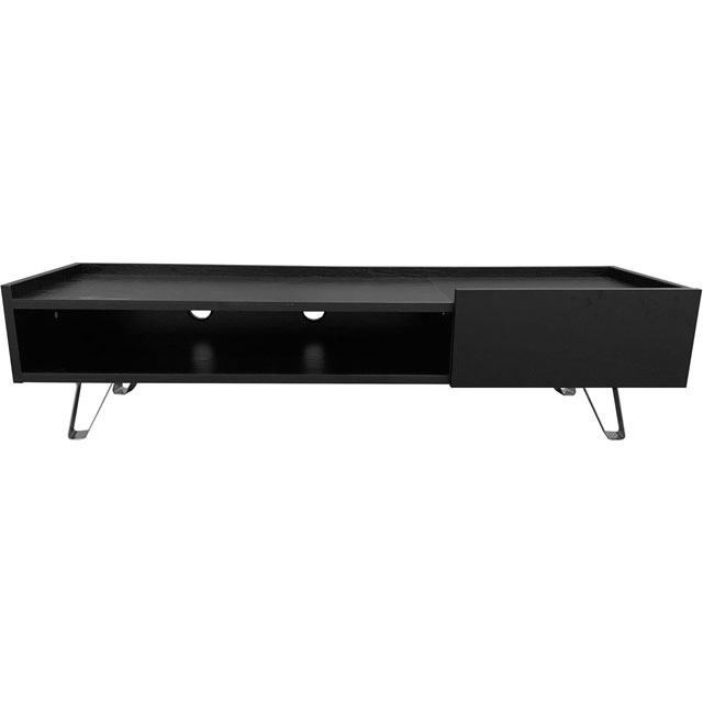 Image of Alphason ADBE1500BLK 0 Shelf TV Stand - Black