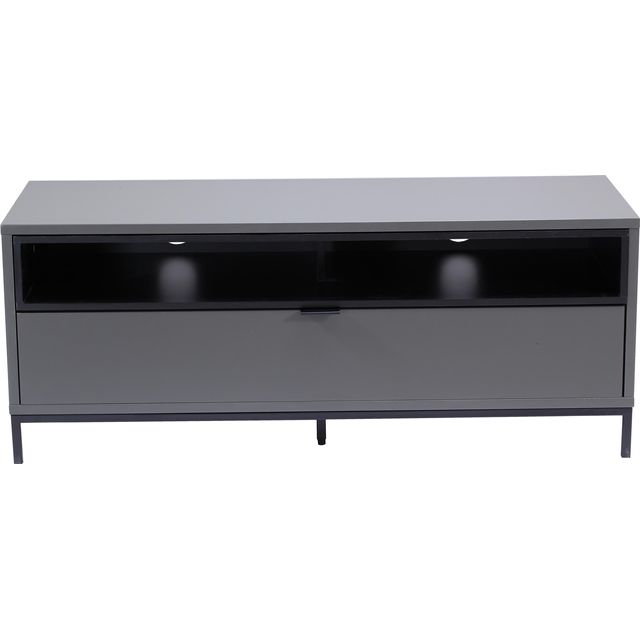 Alphason Chaplin ADCH1135-CH 2 Shelf TV Stand - Black