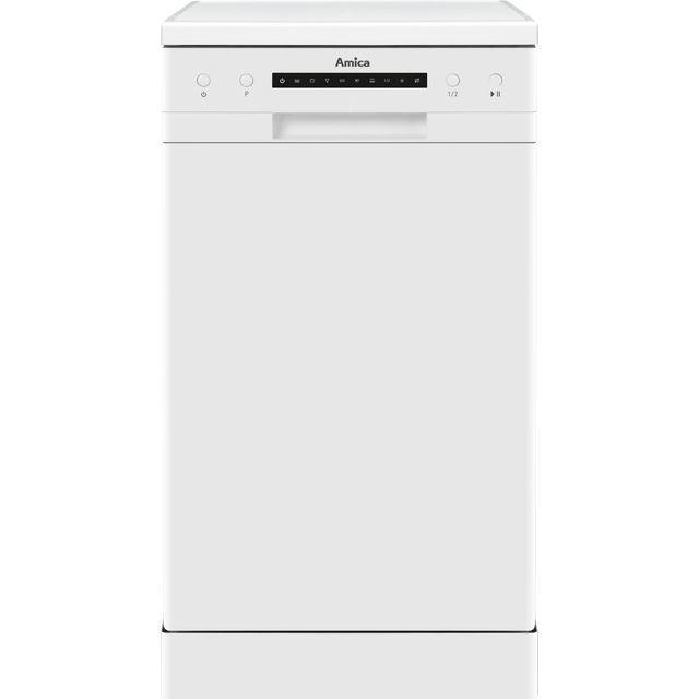 Amica ADF410WH Slimline Dishwasher - White - A++ Rated