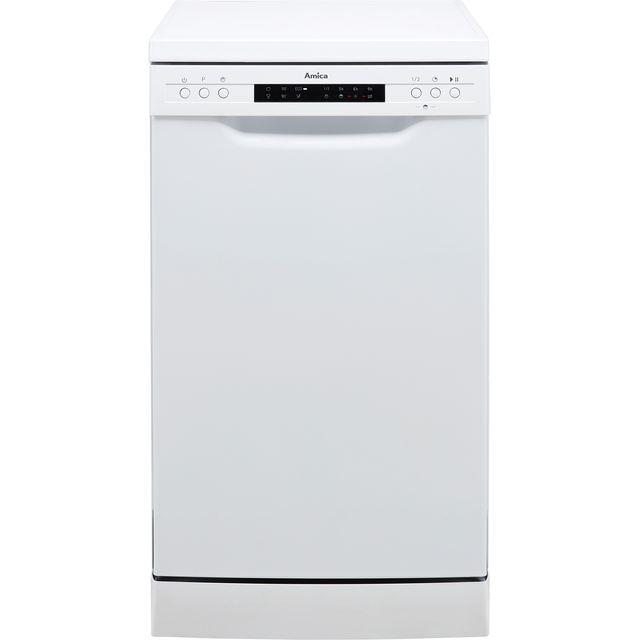 Amica ADF430WH Slimline Dishwasher - White - E Rated