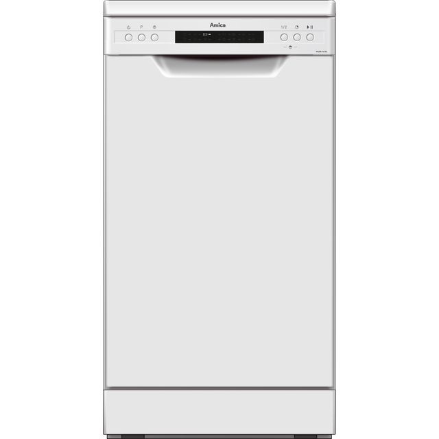Amica ADF430WH Slimline Dishwasher - White - A++ Rated