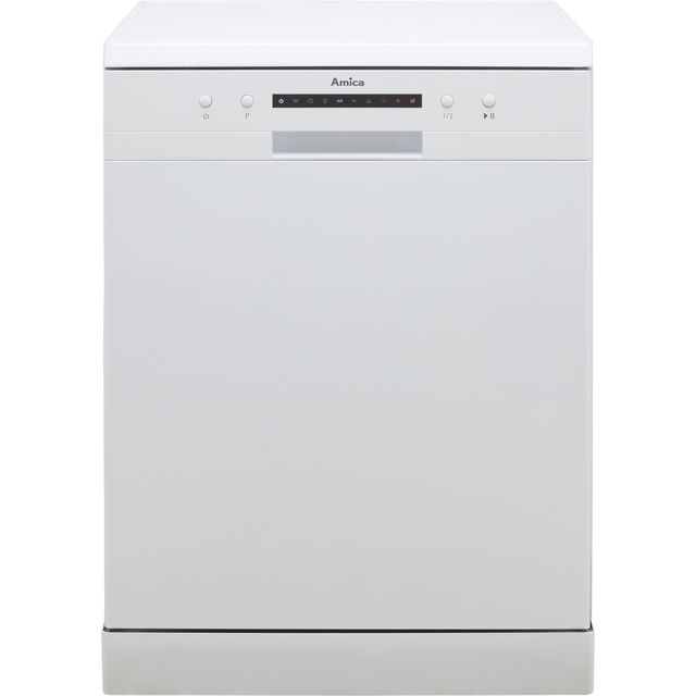 Image of Amica ADF610WH Standard Dishwasher - White - A++ Rated