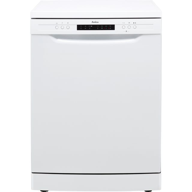 Image of Amica ADF630WH Standard Dishwasher - White - A++ Rated