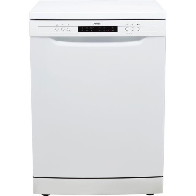 Amica ADF650WH Standard Dishwasher - White - E Rated