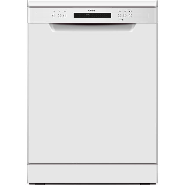 Amica ADF650WH Standard Dishwasher - White - A++ Rated