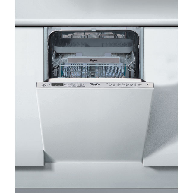 Whirlpool ADG522UK Fully Integrated Slimline Dishwasher - Stainless Steel Control Panel - A++ Rated