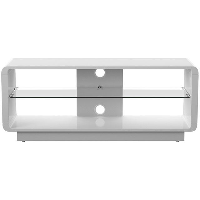 Alphason ADLU1200-WHT Tv Stand in White