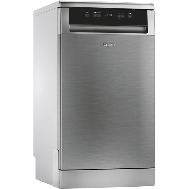 Whirlpool ADP301IXUK Slimline Dishwasher - Stainless Steel - A+ Rated