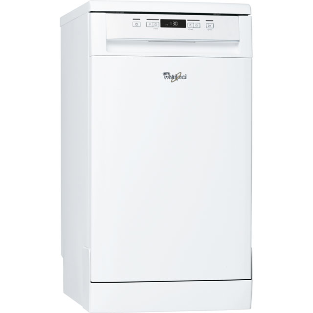 Whirlpool Slimline Dishwasher - White - A+ Rated
