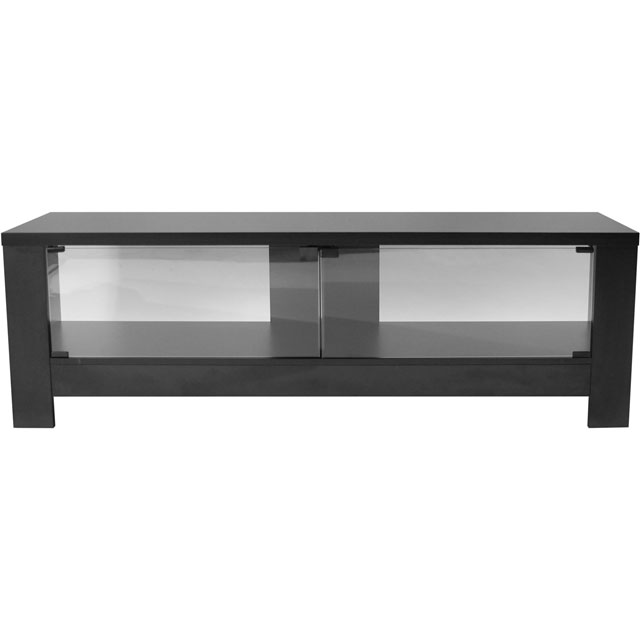 Alphason ADRA1500-BLK 2 Shelf TV Stand - Black