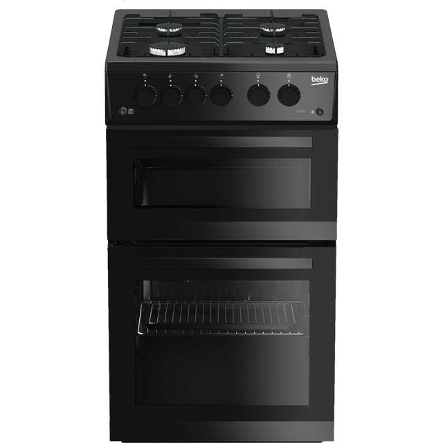 Beko ADVG592K 50cm Gas Cooker with Full Width Gas Grill - Black - A+/A Rated