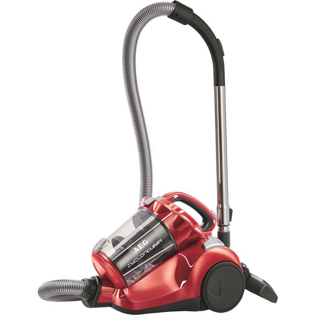 AEG CyclonClean All Floors AE7872EL Cylinder Vacuum Cleaner in Red
