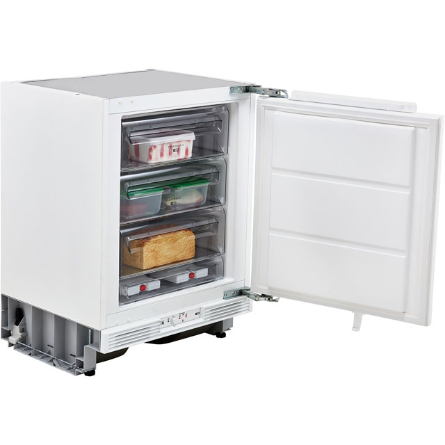 AEG ABB6821VAF Integrated Under Counter Freezer with Fixed Door Fixing Kit - A+ Rated - ABB6821VAF_WH - 1
