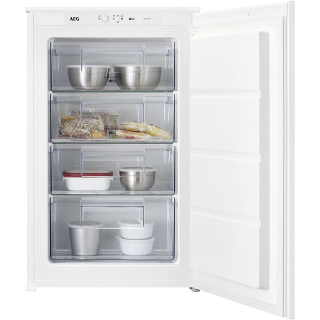 AEG ABE6882VLS Integrated Upright Freezer with Sliding Door Fixing Kit - A+ Rated