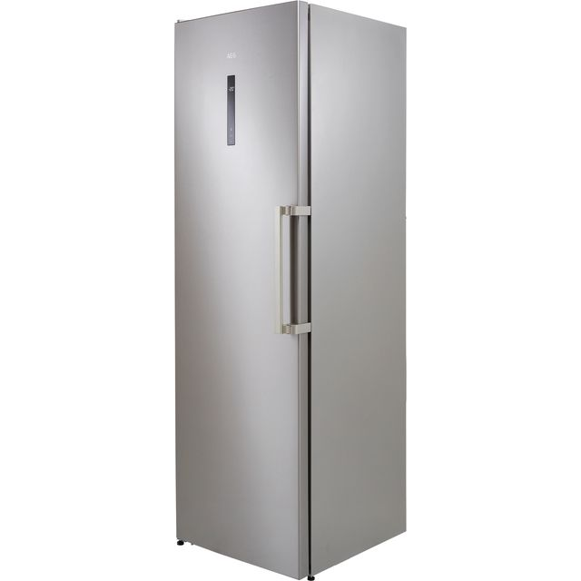 AEG AGB728E5NX Frost Free Upright Freezer - Silver - E Rated