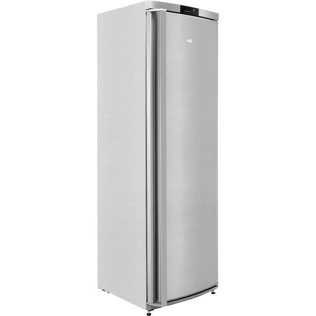 AEG AGE62526NX Frost Free Upright Freezer - Stainless Steel - A++ Rated
