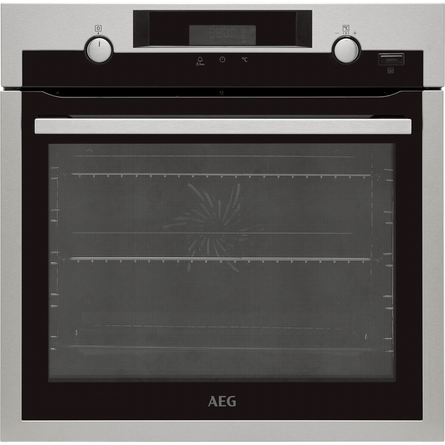AEG BCS556020M Built In Electric Single Oven - Black - A+ Rated