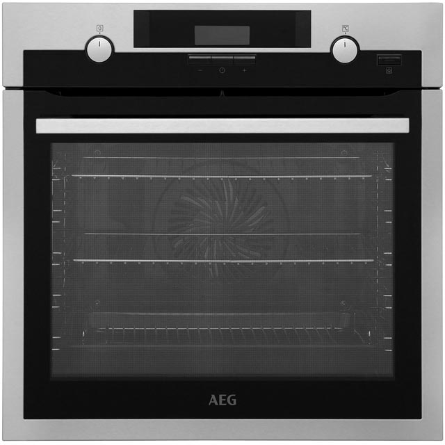 AEG Mastery Electric Single Oven - Stainless Steel - A Rated
