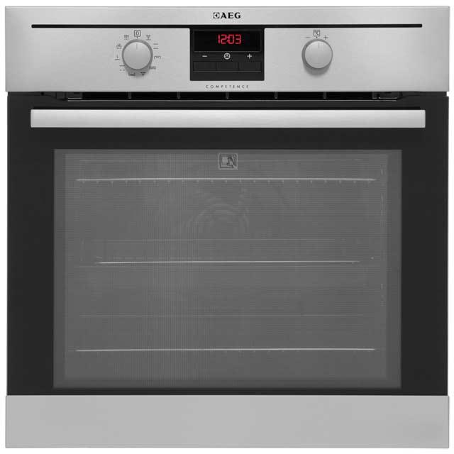 aeg bp200302km single oven stainless steel. Black Bedroom Furniture Sets. Home Design Ideas