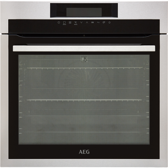 AEG Mastery BPE742320M Built In Electric Single Oven - Stainless Steel - A+ Rated - BPE742320M_SS - 1