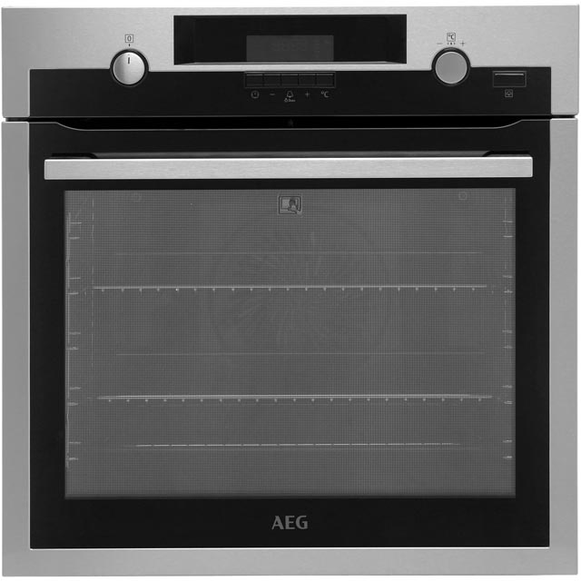 AEG Mastery BPS552020M Built In Electric Single Oven - Stainless Steel - A+ Rated
