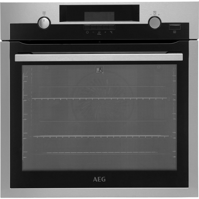 AEG Mastery BPS552020M Built In Electric Single Oven - Stainless Steel - A+ Rated - BPS552020M_SS - 1
