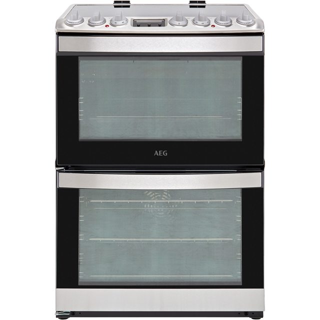 AEG CIB6730ACM Electric Cooker with Induction Hob - Stainless Steel - A/A Rated - CIB6730ACM_SS - 1