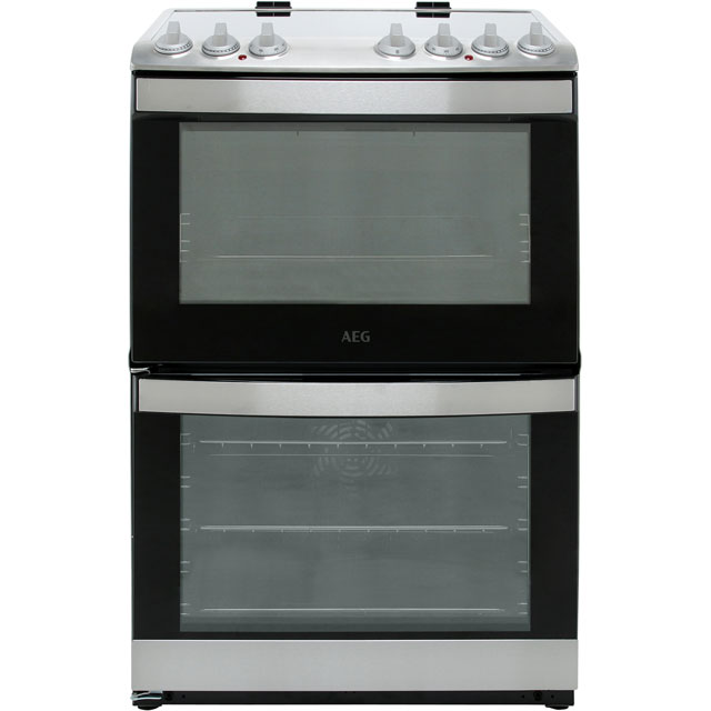 AEG Electric Cooker with Induction Hob - Stainless Steel - A/A Rated
