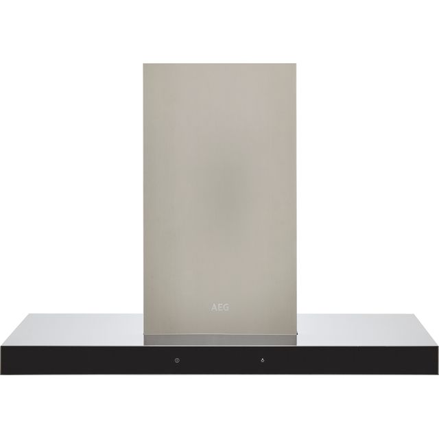 Image of AEG DBE5961HG 90 cm Chimney Cooker Hood - Stainless Steel - A Rated