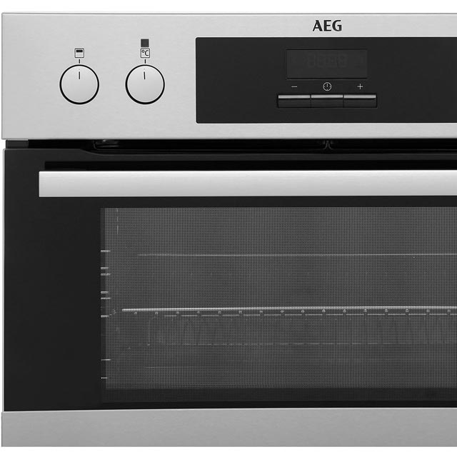 AEG DCB331010M Built In Double Oven - Stainless Steel - DCB331010M_SS - 3