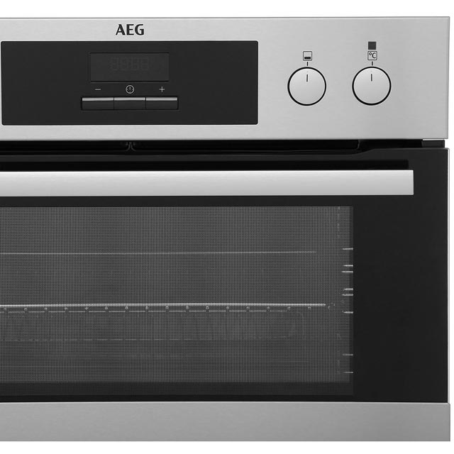 AEG DCB331010M Built In Double Oven - Stainless Steel - DCB331010M_SS - 4