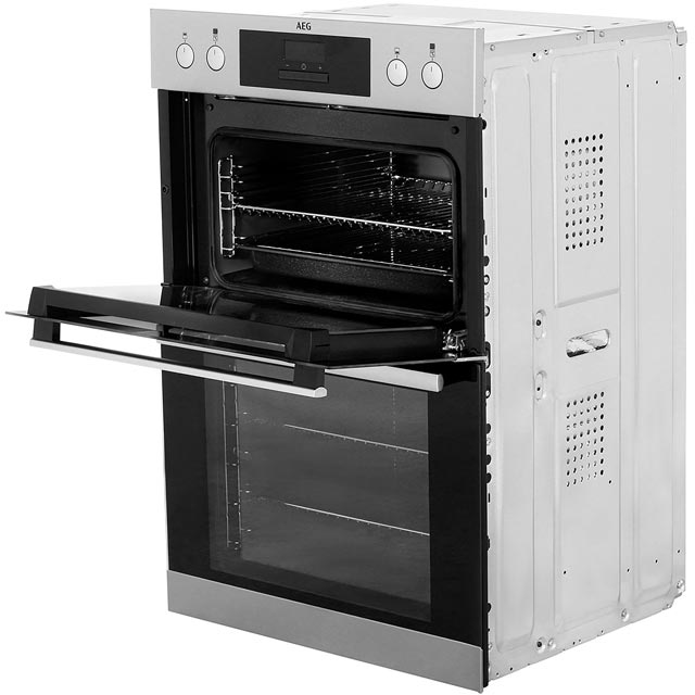 AEG DCB331010M Built In Double Oven - Stainless Steel - DCB331010M_SS - 5