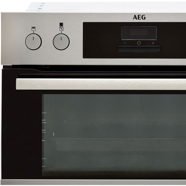 AEG DEB331010M Built In Double Oven - Stainless Steel - DEB331010M_SS - 3