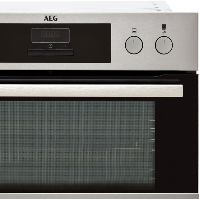 AEG DEB331010M Built In Double Oven - Stainless Steel - DEB331010M_SS - 4