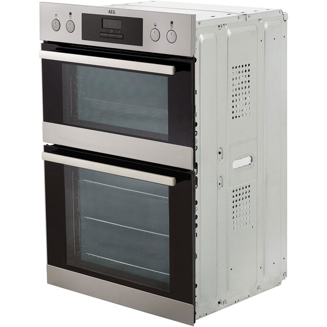 AEG DEB331010M Built In Double Oven - Stainless Steel - DEB331010M_SS - 5