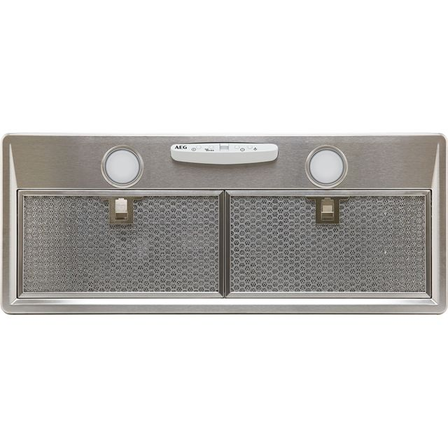 Image of AEG DGB3850M 70 cm Canopy Cooker Hood - Stainless Steel - C Rated