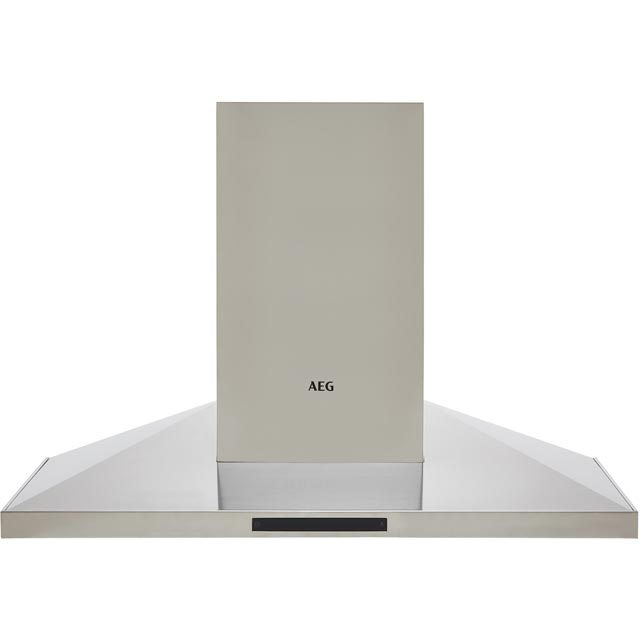 Image of AEG DKB5960HM 90 cm Chimney Cooker Hood - Stainless Steel - A Rated