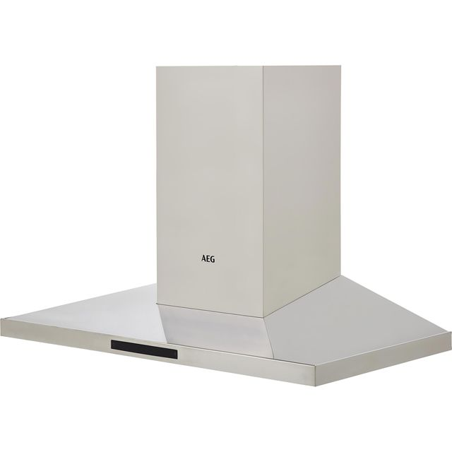 AEG DKB5960HM 90 cm Chimney Cooker Hood - Stainless Steel - A Rated
